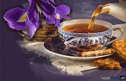 Tea 1390 Morning Animated Friday Unicorn Gifer