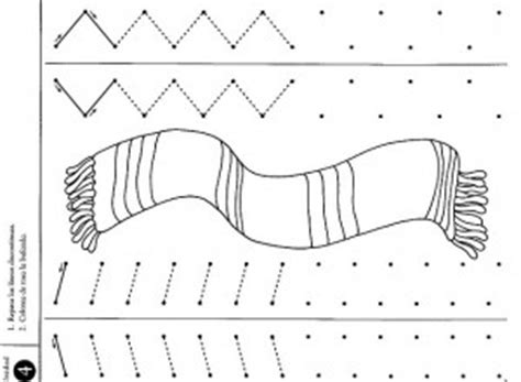 winter clothes tracing worksheet  kids crafts