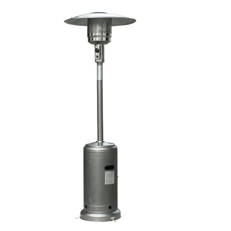 outsunny 87 quot hammer tone outdoor patio propane gas heater