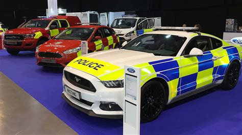 New Ford Mustang May Become Uk's Next Police Car