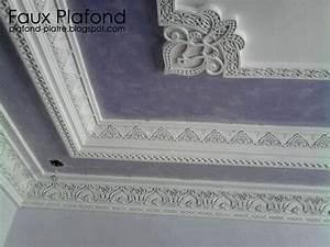 Corniche Plafond Platre : plafond platre designplafond ~ Voncanada.com Idées de Décoration