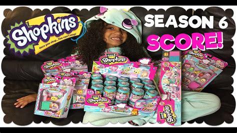 shopkins season 6 chef club score toy hunt youtube