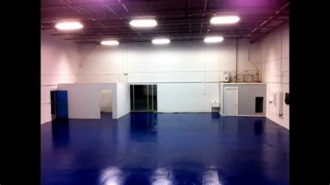 How to Paint Warehouse Walls & Floors High Build Epoxy