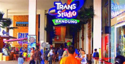 destinasi wisata spektakuler  tempat wisata trans studio