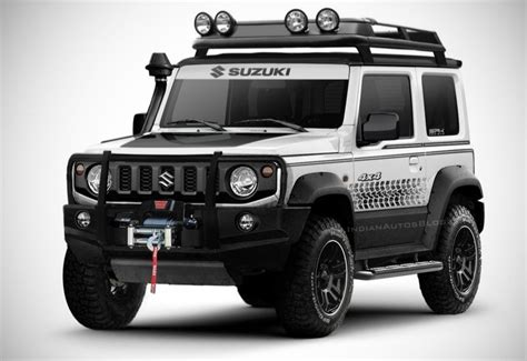 There are places in the world only the jimny can go. New Suzuki Jimny off-road render - MS+ BLOG
