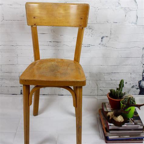 chaise bistrot thonet chaise bistrot ancienne baumann thonet en bois clair