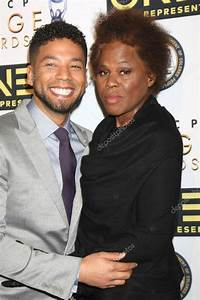 Jussie Smollett, Janet Smollett — Photo éditoriale #98891170