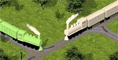 Train Funny Crashes Steam Trains Gifs Crash