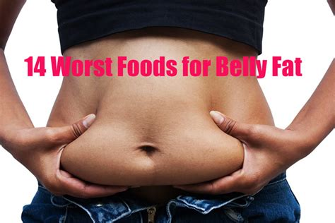 14 worst foods for belly corner