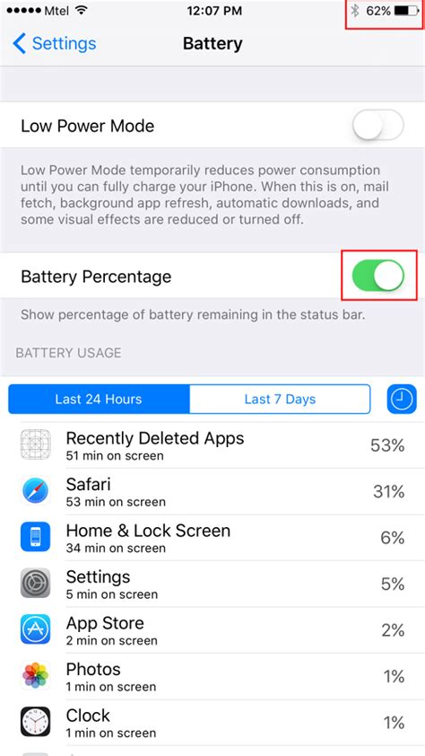 how to put percentage on iphone here s how to display battery percentage on apple iphone