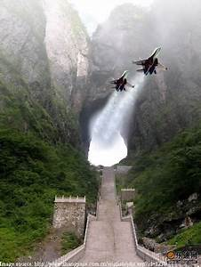 tianmen cave, china | Amazement | Pinterest | Aircraft ...