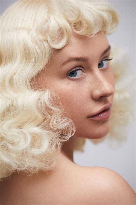 christina aguilera bares  makeup  face wellgood