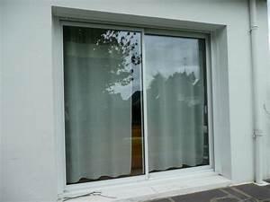 remplacement porte de garage par baie coulissante avec With porte fenetre renovation