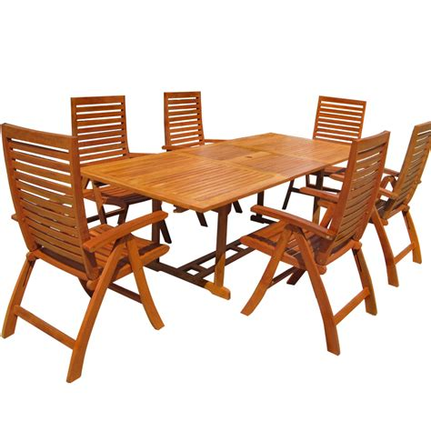 exclusive garden patio furniture set unikko eucalyptus