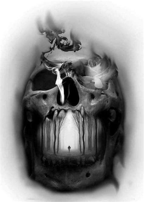 Tattoo Finka Skull Illusion Inspirations Skulls