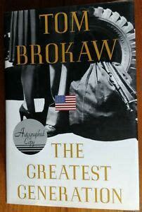 Tom Brokaw Signed Book