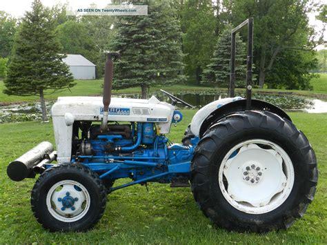 ford 4000 tractor elenco 4x4
