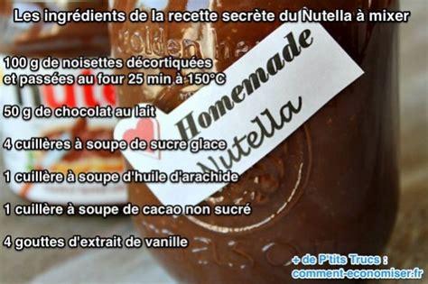 comment faire du nutella maison enfin la recette secr 232 te du nutella 224 faire maison