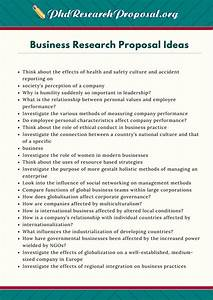 possible research topics in business management