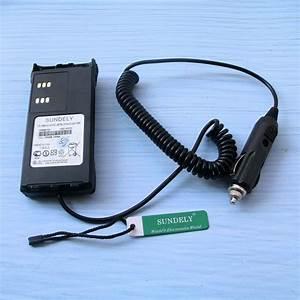 Motorola Ht1250 Charger  12v Car Charger Base For Motorola