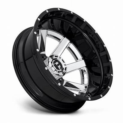 Dually Rear Maverick D260 Chrome Wheels Lug