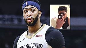 Pelicans video: Anthony Davis shaves unibrow ahead of ...