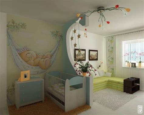Kinderzimmer Gestalten Mit Trennwand by Trennwand Idee Babyzimmer Schlafsofa Wohnbereich Ideen