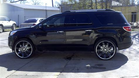monde  gmc acadia specs  modification info