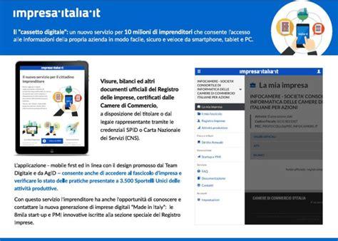 cassetto fiscale login impresa italia it nasce il nuovo cassetto digitale per l