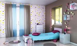 Deco Pour Chambre Fille : deco chambre ado fille taupe visuel 4 ~ Melissatoandfro.com Idées de Décoration