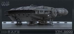 Rafe Dominguez - Concept Starship - Corellian Yth
