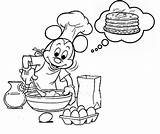 Pancake Coloring Pancakes Crepes Coloriages Pages14 Theme Coloringkids sketch template