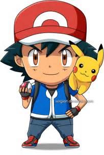 Pokemon Chibi Ash