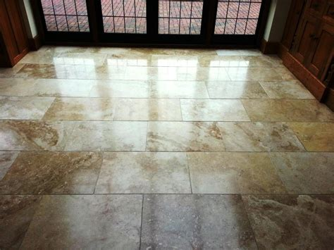 travertine tile pros and cons installing travertine floor tile new basement and tile