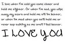 boyfriend i love you
