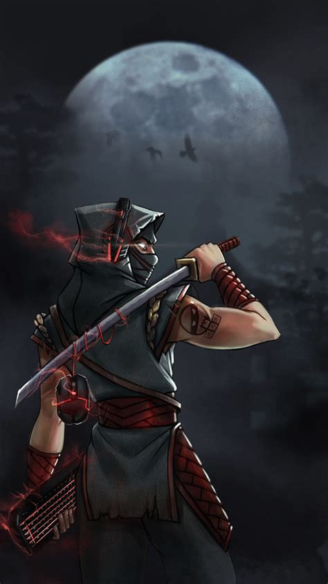 ninja character designs concept artwork