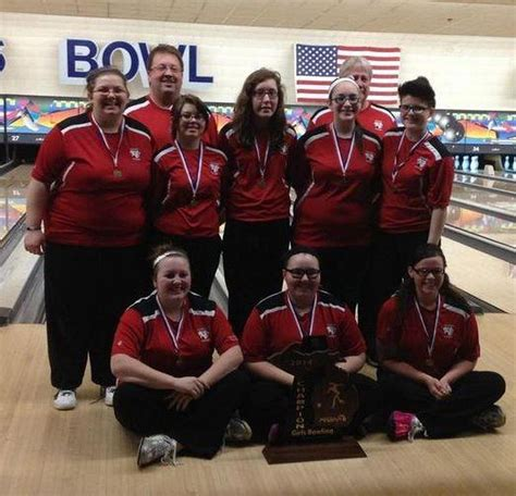 1/23 girls high school bowling rankings in Michigan ...