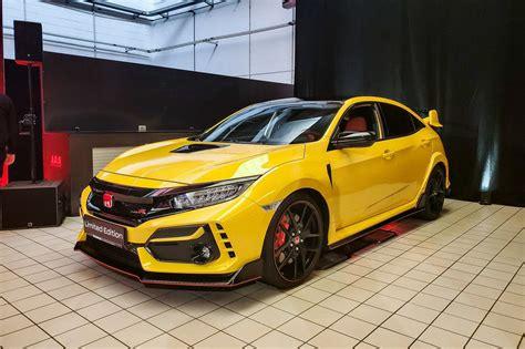 LIMITED EDITION 2021 HONDA CIVIC TYPE R ON THE WAY - Honda ...