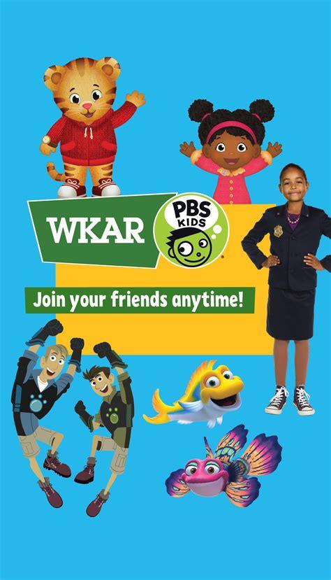 wkar  launch   multiplatform pbs kids services