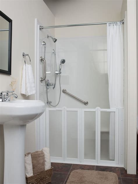 In Shower Ideas For Small Bathrooms by Shower Stalls For Small Bathrooms Loccie Better Homes