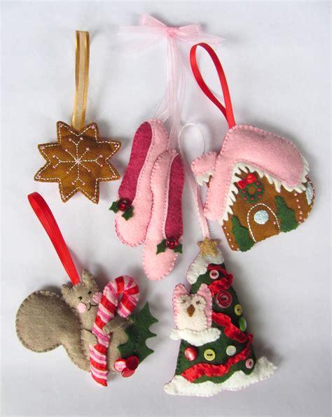 felt gingerbread cookie ornament imagine our - Christmas Felt Ornament