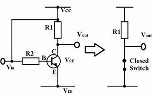 Transistor As A Switch Theory With Block Diagram  U0026 Characteristics Curve