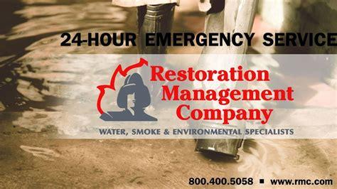restoration management company  reviews damage