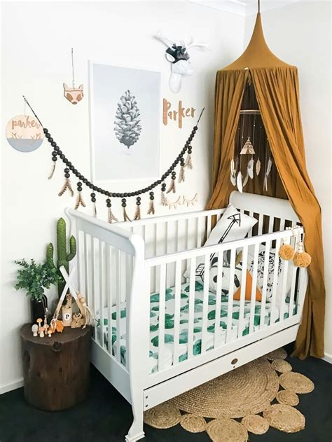 bohemian nursery ideas  pinterest