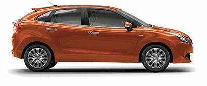 Baleno Maruti Suzuki Ray Orange Premium Silver