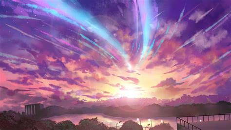 pc aesthetic anime your name wallpapers