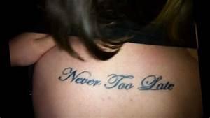 Adam Gontier Never Too Late Tattoo   www.pixshark.com ...