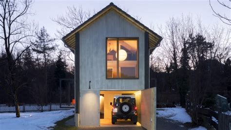 chalet style house tiny wooden house in germany a cozy and functional nature