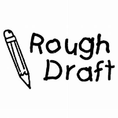 Draft Rough Clipart Stamp Teachers Thesis Final