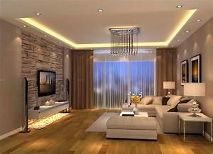 Modern living room brown design for Modern decoration living room ideas